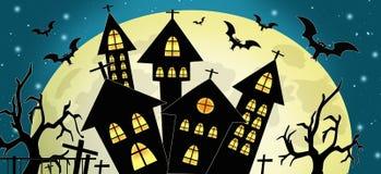 Godsdienstige de herfstvakantie van Halloween stock afbeelding