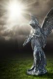 Godsdienstige engel royalty-vrije stock afbeeldingen