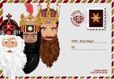Godsdienstige envelop Royalty-vrije Stock Foto's