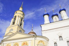 Godsdienstige gebouwen Stock Afbeelding