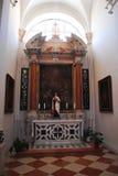Godsdienstige gebouwen Dubrovnik, Kroatië Stock Fotografie