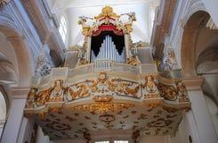 Godsdienstige gebouwen Dubrovnik, Kroatië Royalty-vrije Stock Afbeelding