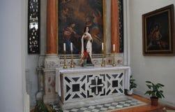 Godsdienstige gebouwen Dubrovnik, Kroatië Royalty-vrije Stock Foto