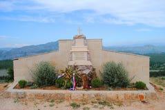 Godsdienstige gebouwen Dubrovnik, Kroatië Royalty-vrije Stock Afbeeldingen