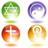 Godsdienstige Knopen vector illustratie