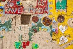 Godsdienstige muur Royalty-vrije Stock Fotografie