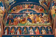 Godsdienstige schilderende XI Stock Afbeelding
