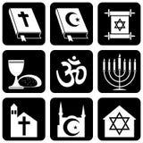 Godsdienstige symbolen Royalty-vrije Stock Afbeeldingen
