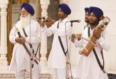 Godsdienstige zangers Royalty-vrije Stock Foto