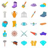 Godsend icons set, cartoon style Stock Photo
