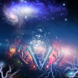 Godshanden vector illustratie