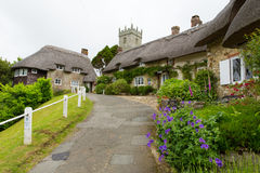Godshill village Isle of Wight Stock Photos