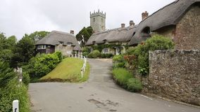 Godshill village Isle of Wight Royalty Free Stock Image