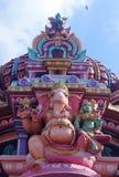 Godsvinayaka bij tempel Royalty-vrije Stock Fotografie