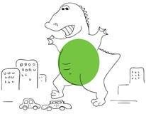 Godzilla Stock Photography