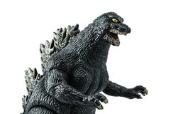 Godzilla model Royalty Free Stock Photo