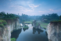 Godzilla Park. In Tangerang Banten Indonesia royalty free stock images