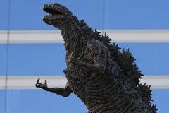 Godzilla statue in Hibiya royalty free stock photo