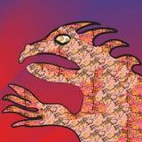 Godzilla vector illustration Stock Photos