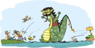Godzilla Royalty Free Stock Photo