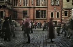 godzina ludzie pośpiechu odprowadzenia Fotografia Stock