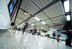 godzina pośpiechu metro zdjęcia stock