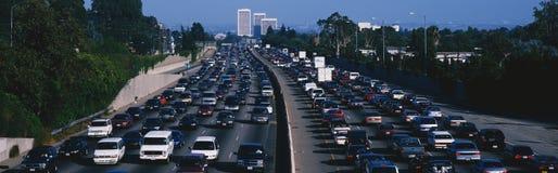 godzina szczytu ruch drogowy Obrazy Stock