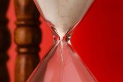 godzina szklany zegar zdjęcie stock