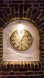Godzina zegarowego czasu stary zegarowy szczegół Obrazy Stock