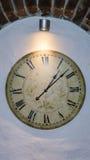 Godzina zegarowego czasu stary zegarowy szczegół Zdjęcie Royalty Free
