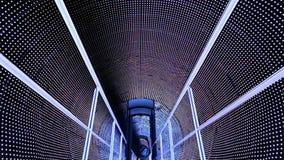 Godziny ręki światła tunel zdjęcie wideo