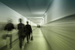 Godziny szczytu w tunelu Fotografia Royalty Free