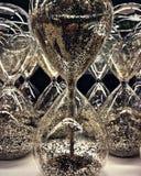 Godziny szkło Zdjęcia Royalty Free