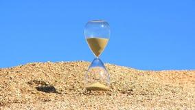 Godziny timlapse niebieskiego nieba szklany tło zbiory wideo