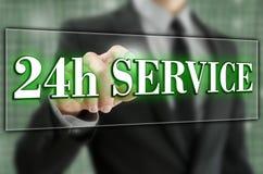 24 godziny usługa Zdjęcia Stock