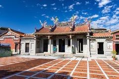 Goed - bekende voorouderlijke zaal in Pingtung, Taiwan Stock Foto's