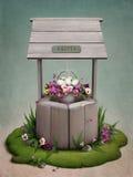 Goed, bloemen en Paaseieren royalty-vrije illustratie