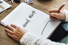 Goed de Deskundigheidsconcept van het het Werk Beste Uitstekend Succes stock afbeeldingen