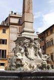 Goed in pantheon-ii-Rome-Italië Stock Afbeelding