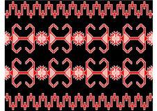 Goed Servisch tapijt vector illustratie