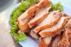 Goed uitgevoerd Gekookt Varkensvlees Stock Fotografie