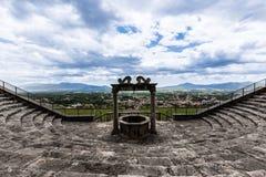 Goed van tempel van geluk in palestrina stock afbeelding