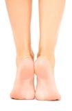 Goed-verzorgde vrouwelijke voet Royalty-vrije Stock Afbeelding