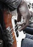 Goede gitaar Royalty-vrije Stock Foto's