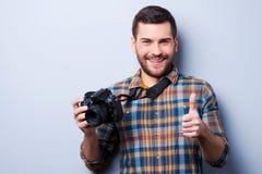 Goede glimlach! Stock Fotografie