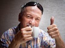 Goede koffie Stock Afbeeldingen