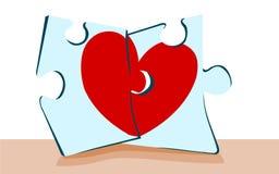 Goede liefdepasvorm Stock Afbeelding