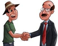 Goede overeenkomst stock illustratie