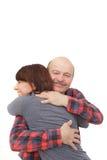 Goede relaties tussen ouders en kinderen royalty-vrije stock afbeelding