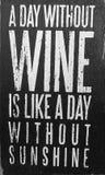 Goede uiteinden over wijn zwart-wit beeld Stock Foto